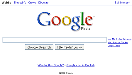 Search Like the Pirates