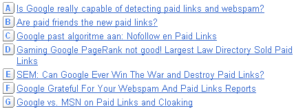 Google Insights for Search Paid Links Headlines