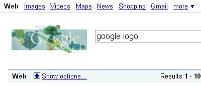 Google Logo in SERP's