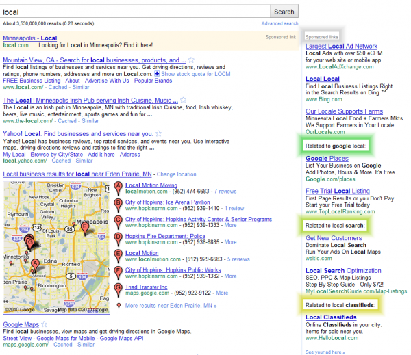 New Google Sponsored PPC Ads Segmentation Format