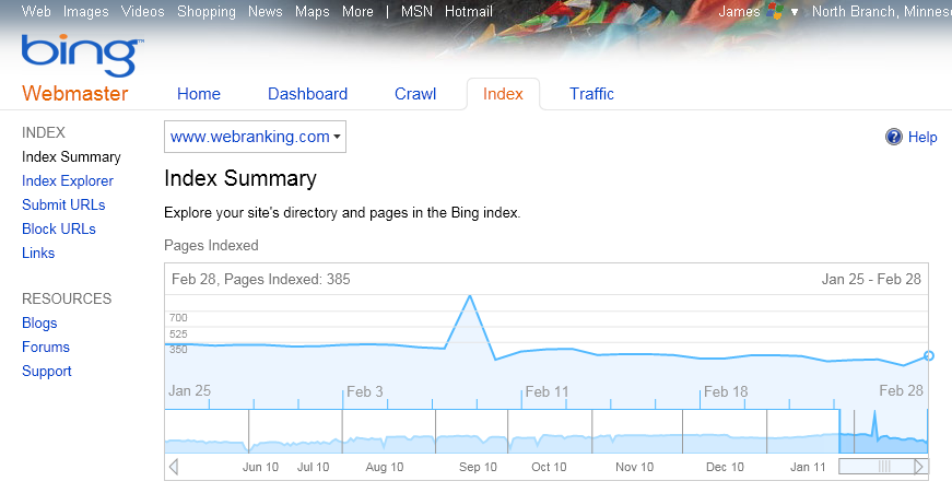 The Bing Challenge Daily Journal: Week 1 Search Results ...