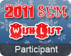 2011 SEM Wish List Participant Badge