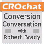 CRO Chat - Conversion Conversation with Robert Brady