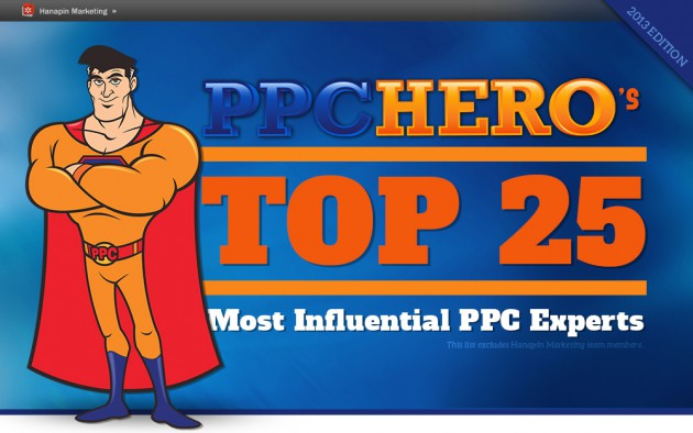 Top 25 Most Influential Pay Per Click Experts in 2013