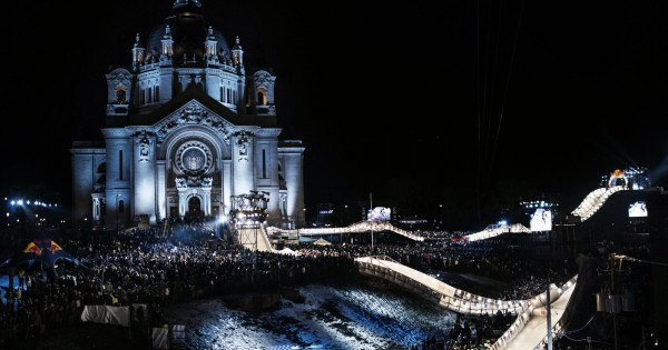 Red Bull Crashed Ice in St. Paul