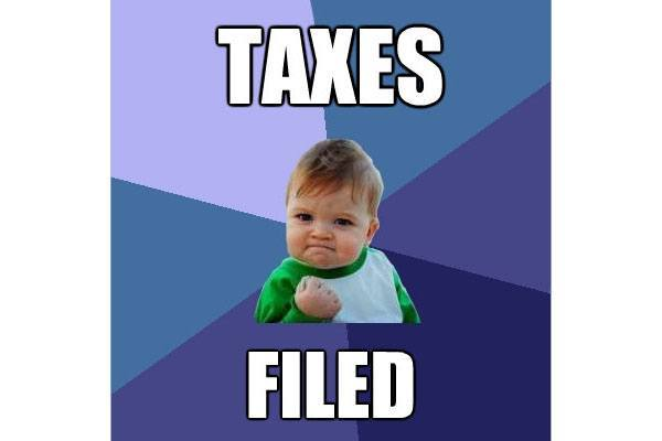 taxes filed