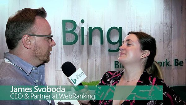 James Svoboda Bing Interview at Hero Conf 2016