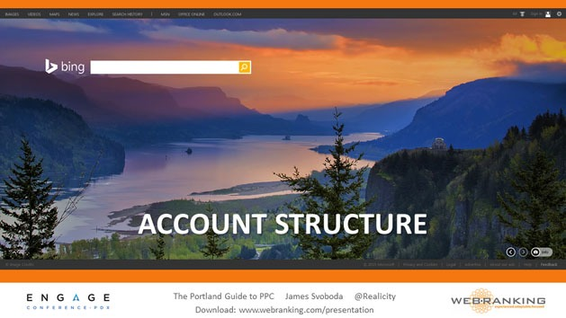 Account Structure, Crown Point Oregon