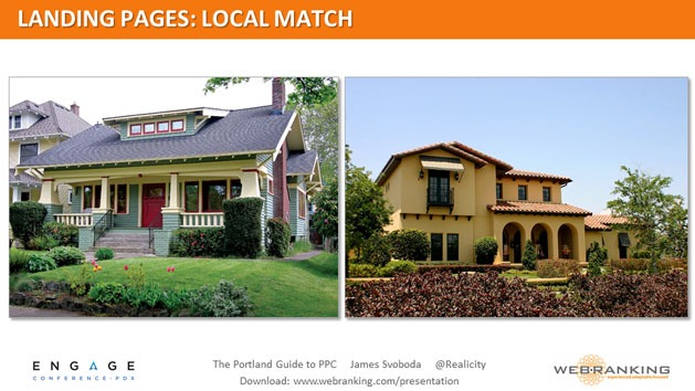 Landing Pages - Local Match