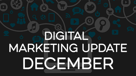 Digital Marketing Update - December 2016