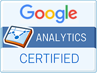 google analytics certified small