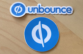 unbounce stickers