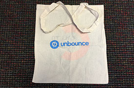 unbounce swagbag