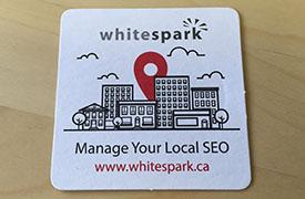 whitespark coaster