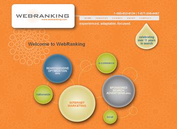 New WebRanking Site