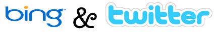bing & twitter