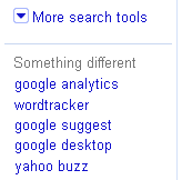 New SERPs: Something Different