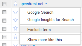 Exclude Term Option from the AdWords Keyword Tool