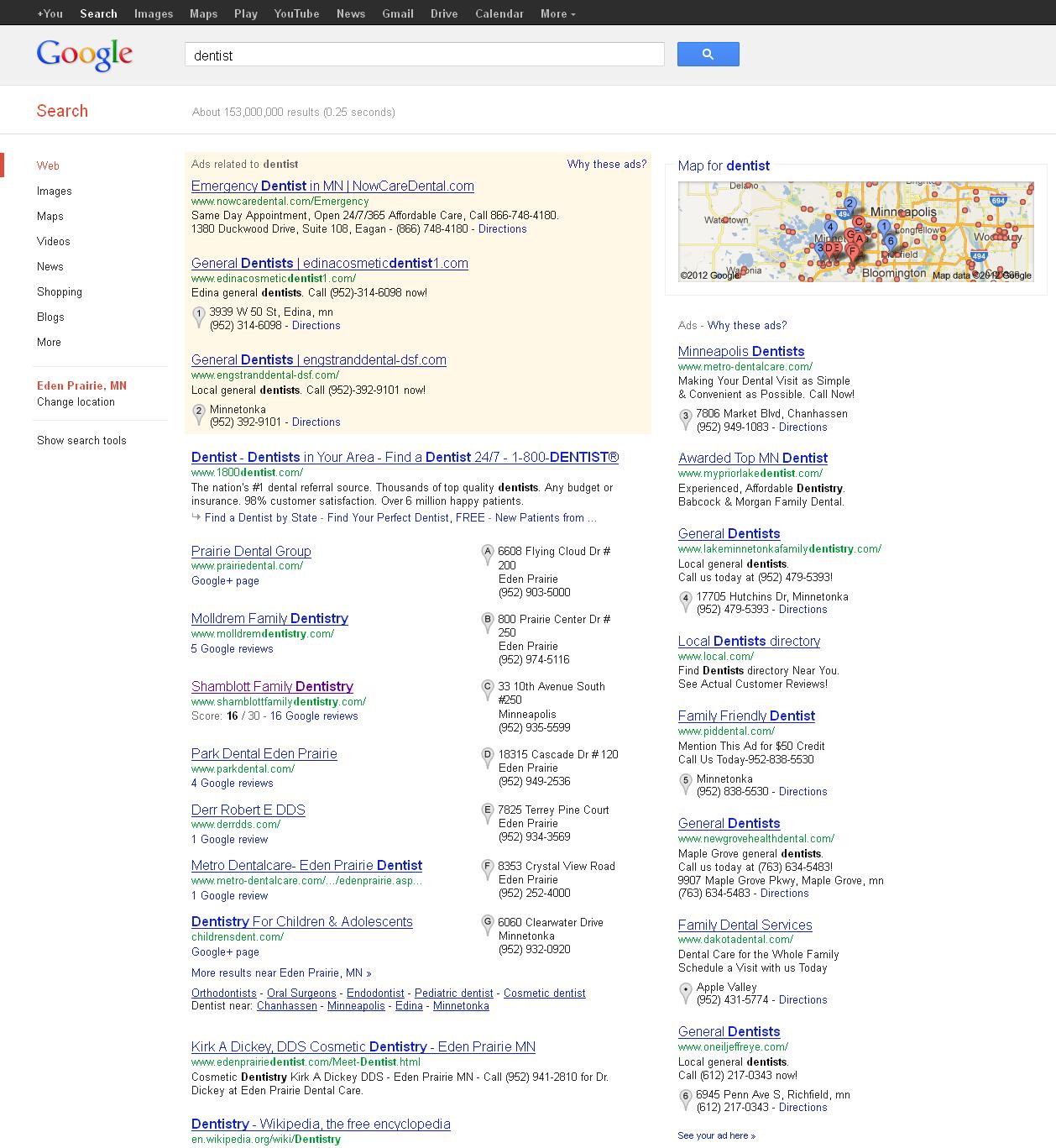 Tricking google adwords google adwords login page