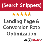 MnSearch Search Snippets - Landing Pages and Conversion Rate Optimization