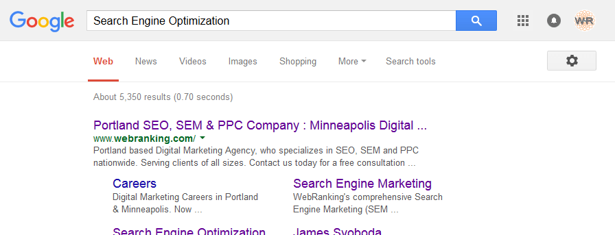 Search Engine Optimization (SEO) Agency : Portland & Minneapolis Offices : WebRanking