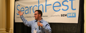 Paul Kragthorpe at SearchFest
