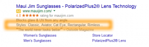Google AdWords Ad Extension Structured Snippets Examples Styles