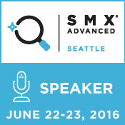 SMX Advanced 2016 Speaker Badge