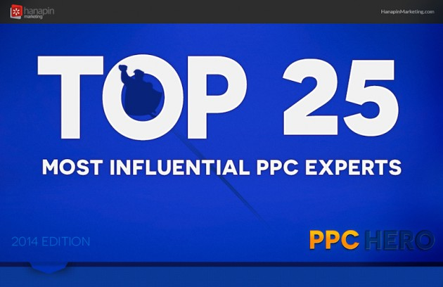 Top 25 Most Influential PPC Experts in 2013