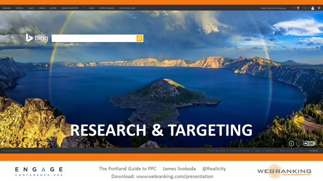 Research & Targeting, Crater Lake Oregon