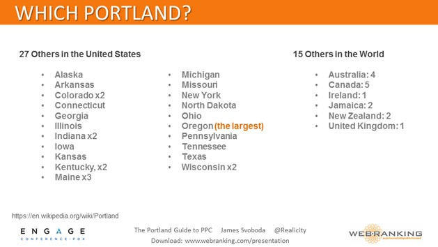 27 Portlands in the United States