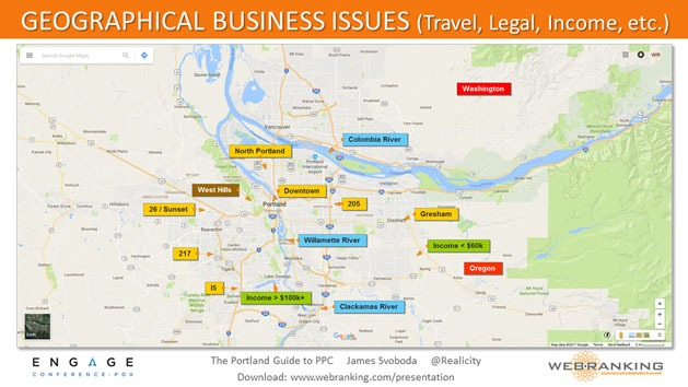 Geographical Business Issues - Travel, Legal, Income