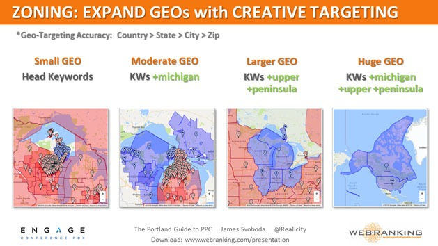 Zoning - Expand Geos with Creative Targeting