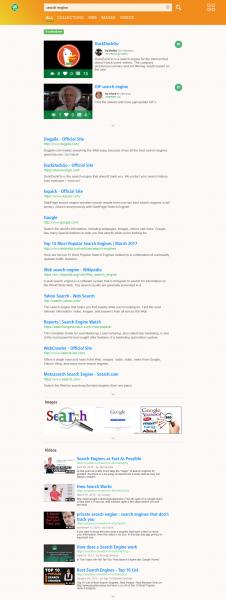 GoTo.com SERPs Page