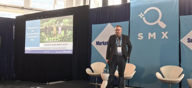 James Svoboda Presenting at SMX Advanced 2017 in Seattle