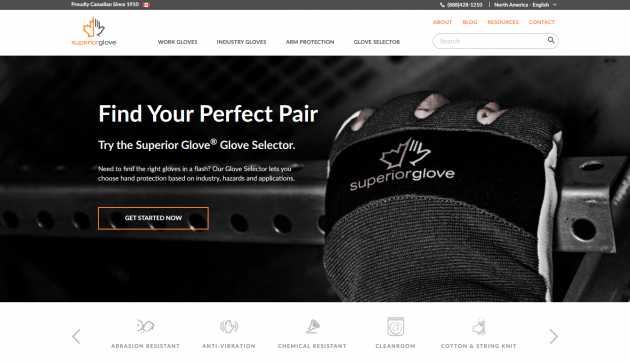 Superior Glove, maker of premium work gloves