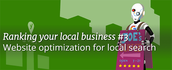 Website Optimization for Local Search