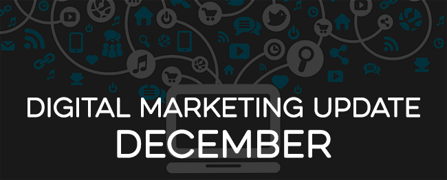 Digital Marketing Update December 2016
