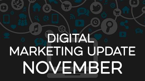 Digital Marketing Update - November 2016