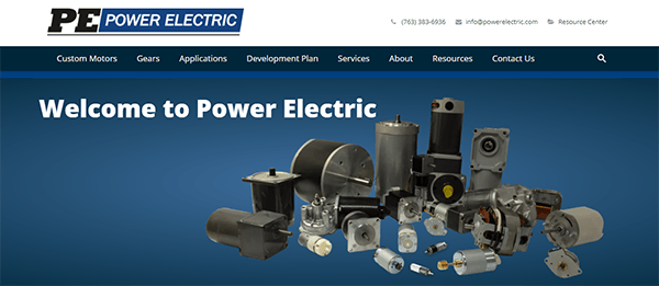 power-electric-website
